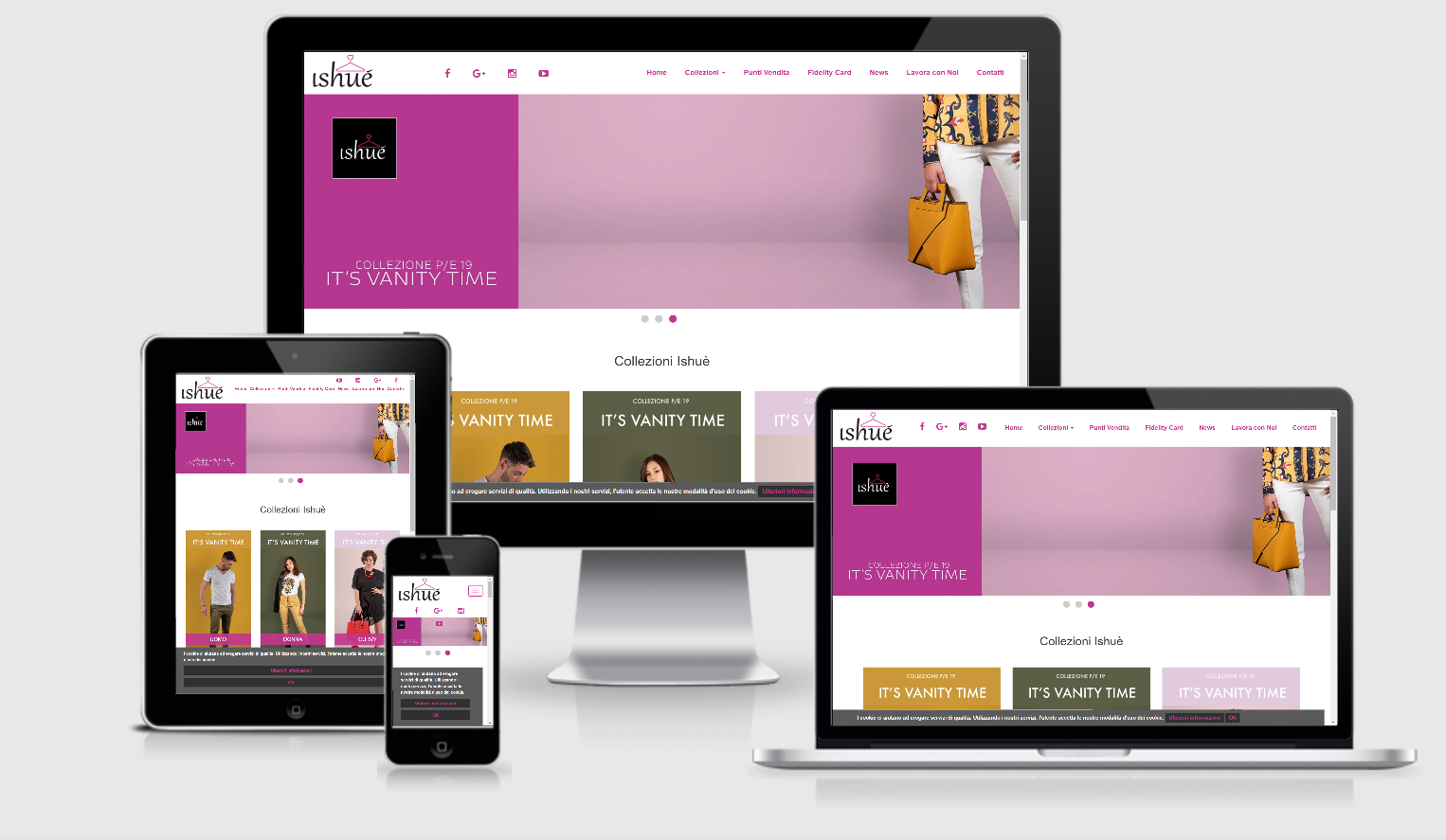 ishue website - creazione siti internet - web agency