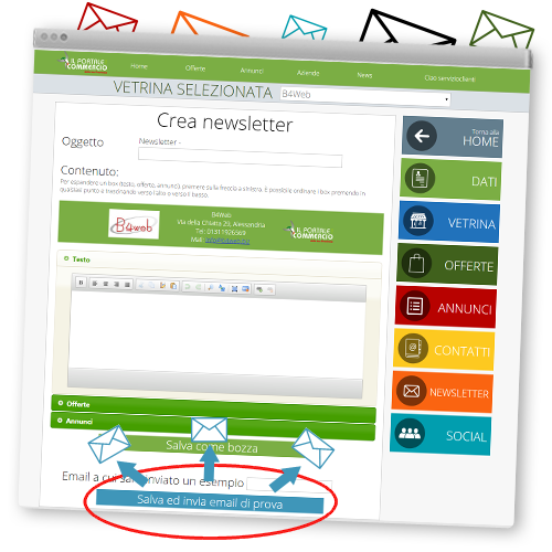 Crea newsletter